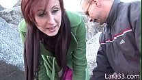 Screenshot Brit milf spunk ed in mouth after doggystyled er doggystyled