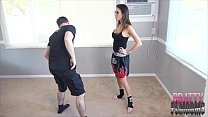 Dava Foxxs Muay Thai Ballbusting Training BALLBUSTING