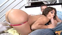 Horny Jynx Maze blowing  big dick