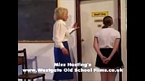 Penny spanked and caned in front of class thumbnail