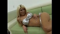 busty blonde kenzi marie gives her first pov blowjob