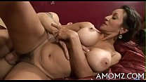 Hot mom groans with unfathomable fucking