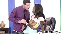 Hot Sex In Office With Big Round Boobs Girl (Jezabel Vessir) video-13