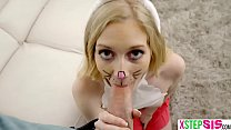 Bunny stepsister teen found my big cock in her mouth Vorschaubild