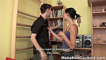 Make Him Cuckold - Unfaithful Guy Punished By A Girlfriend Diana Teen Porn