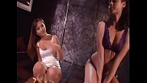 Couple of naughty pretty nymphos Tia Tanaka and Isabella Dior are looking job at night club as private dancers