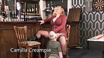 Camilla and Mr. Creampie in the pub Promo