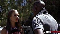 leone xvideo | Beautiful teen cheerleader liza rowe fucked and fed with bbc thumbnail