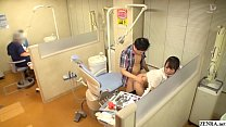 Japanese dentist risky sex at work with Nao Kir...