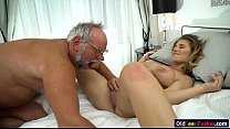 19 yo Aida Swinger pussy and ass eaten and banged by grandpa