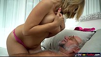 Image: 19 yo Aida Swinger pussy and ass eaten and banged by grandpa