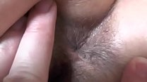 My wife is a. while I examine her ass and pussy. Close up. Big ass! Big hairy pussy!