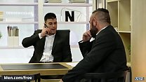 Fucking in the office with hunks Jessy Ares Pietro Duarte - Men.com