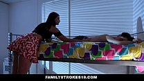 FamilyStrokes - Violet Rain Fucks Her Younger Stepbro In her Dorm Preview