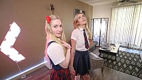 Dad Fucks His Step Daughter After Their Sleepovers - Mazzy Grace, Emma Starletto