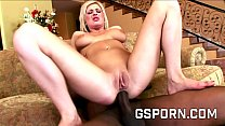 Anal creampie by BBC for the ass of Andi Anderson