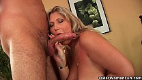 16340 Older woman with natural big tits gets fucked preview