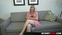 xxx korina - Step mom fucks son while working on her laptop thumbnail