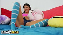 BANGBROS - Petite Latin Teen Michelle Martinez Gets Her Pussy Pounded