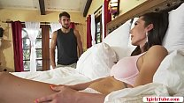 Shemale stepmom barebacked by her stepson