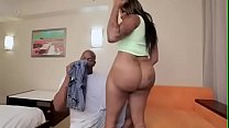 Ebony slut takes it in the ass. Part 2 at analoverload.c o m