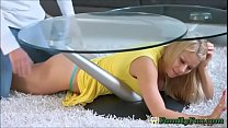 Milf is stuck and is groped - www.mistreather.com