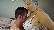 AGEDLOVE Granny Savana fucked with really hard ...