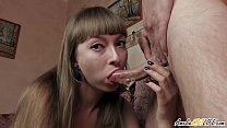 Hot Brunette Deepthroat Big Dick Lover and Cum ...