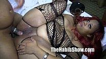thicke booty snicka gangbanged pornhub video