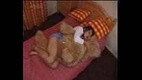 japanese girl humping a teddybear image