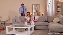 X-Rated After School Studies - Extremely Hot Teen Threesome Preview