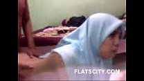 cute hijabi babe giving handjob to her BF and fucked in doggy pornhub video