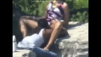 Pussylicking outdoors hidden cam voyeur