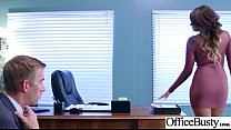 Sex Scene In Office With Slut Hot Busty Girl (Cassidy Banks) video-28