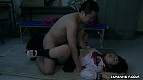 Japanese schoolgirl, Sayaka Aishiro is often sucking and fucking, uncensored