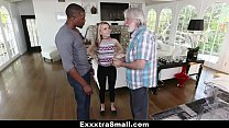 ExxxtraSmall - Small Blonde Teen Fucks Huge Cock