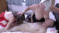 AgedLove Lacey & Pandora big boobs have fun wit...