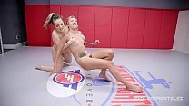 Carmen Valentina vs Sophia Grace in winner fucks loser lesbian wrestling fight