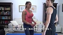 Dolly vs. Potter - Backmounting 1. - SHORT