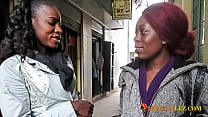 African Amateur Lesbian Teen Meets up with ex-GF for Quick Fuck