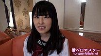 Japanese Asian Girls Long Tongue Showing, Tongue Fetish - More at tongue-fetish.net