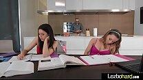 (Capri Anderson & Shyla Jennings) Cute Teen Lesbians Put Up A Sex Show On Cam clip-07