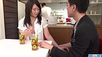 Sanae Akino blows hubby before going to work  -...