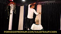 HAUSFRAU FICKEN - Alternative blonde German MILF pounded hard Vorschaubild