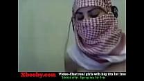 Palestine Arab  Hijab Girl Show Her Big Boobs   Her Big Boobs In Webcam