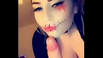 Amelia Skye Fucks and face sits for Halloween (who is going to fail no nut November over this!)