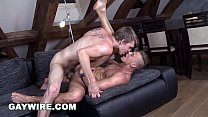 GAYWIRE - Sexy Muscular Studs Anal Sex Sexapade!