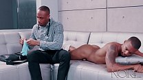 NoirMale Muscle Hunk Big Black Dick Doctor Makes A House Call