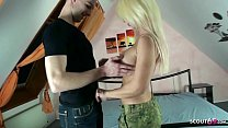 ▶▶ German Big tits Mom Suprise Step Son with Fuck after Come home army ◀◀