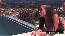 Capri Anderson Capri's first lesbian experiment porn HD